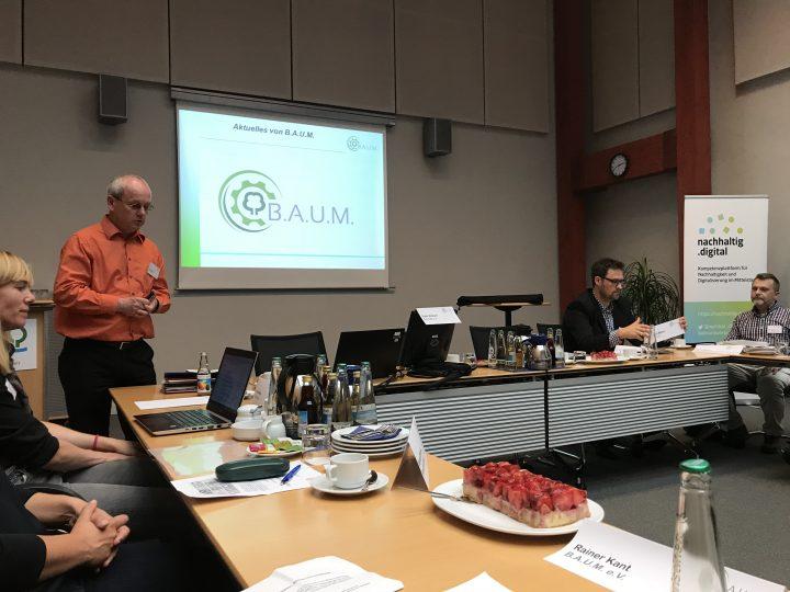 Einladung zum 4. B.A.U.M. Netzwerktreffen in Osnabrück