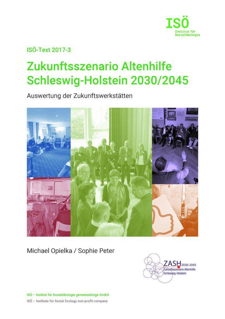 Michael Opielka/Sophie Peter, Zukunftsszenario Altenhilfe Schleswig-Holstein 2030/2045. Auswertung der Zukunftswerkstätten (ISÖ-Text 2017-3)