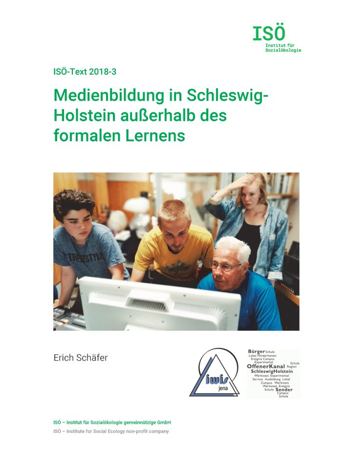 Erich Schäfer, Medienbildung in Schleswig-Holstein außerhalb des formalen Lernens (ISÖ-Text 2018-3)