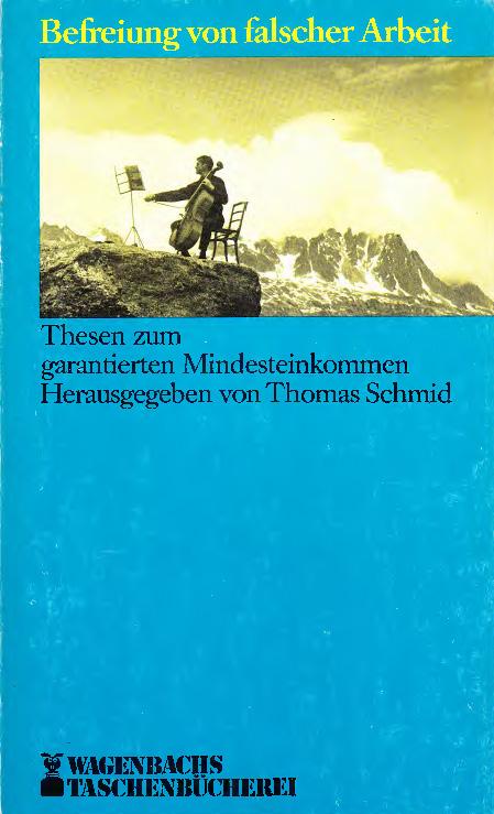 Michael Opielka, Das garantierte Einkommen – ein sozialstaatliches Paradoxon? (1984)
